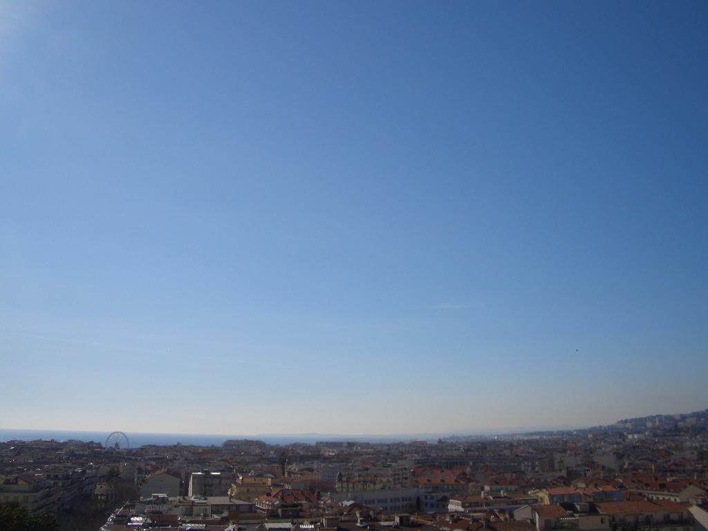 vue de l'avenue bieckert Cimiez Nice