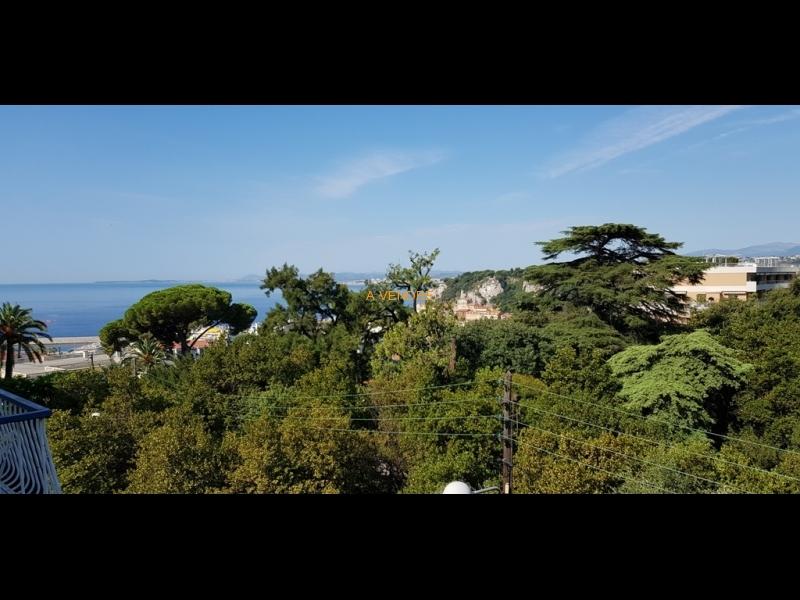 Avenue Urbain Bosio calme vue mer balcon prix: 299.000 Euros