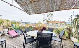 Vaste séjour terrasse 30 m²