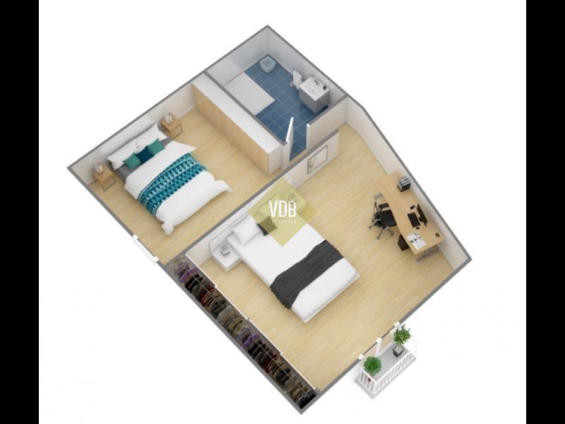 Projet pour réaliser une chambre supplémentaire à l'étage